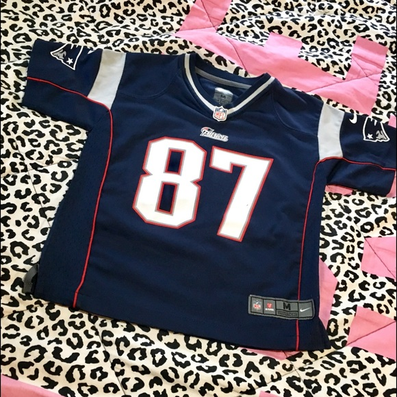 pink gronk jersey